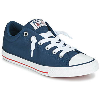 Chaussures Enfant Baskets basses Converse CHUCK TAYLOR ALL STAR STREET  CANVAS OX Bleu c660d9bc629