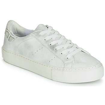 Chaussures Femme Baskets basses No Name ARCADE Blanc / argent