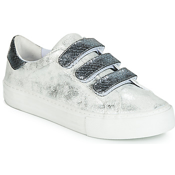 official photos 45508 2a80d Chaussures Femme Baskets basses No Name ARCADE Blanc   gris