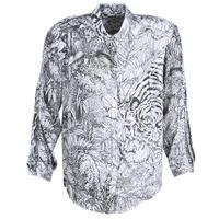 Vêtements Femme Chemises / Chemisiers Ikks BN12085-11 Blanc / Noir