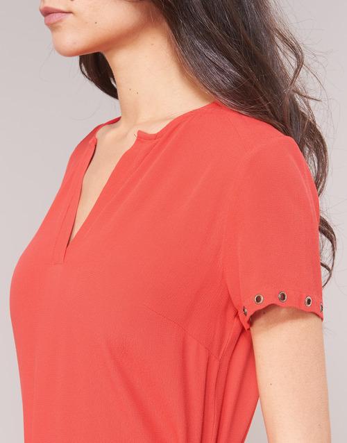 Ikks Bn30115-35 Corail / Rose - Livraison Gratuite- Vêtements Robes Courtes Femme 11600 nsSZJ