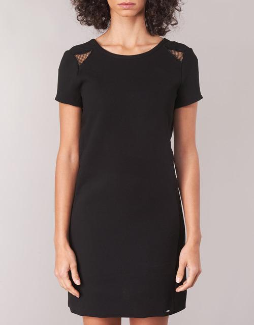 Bn30105 Noir Femme Robes Courtes Ikks 02 TiOZXPku