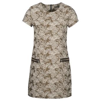 Vêtements Femme Robes longues Ikks BN30165-65 Kaki / Beige