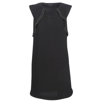 Vêtements Femme Robes courtes Ikks BN31075-02 Noir