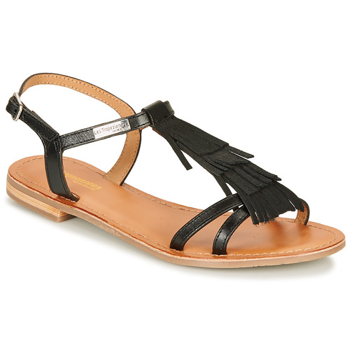 Sandales Nu Et Par Belarbi Les Femme Noir pieds M Belie Tropéziennes 0wmnvN8