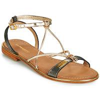 Chaussures Femme Sandales et Nu-pieds Les Tropéziennes par M Belarbi HIRONDEL Noir irisé