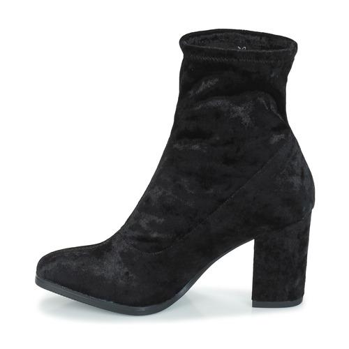 Femme Velvet Chaussures 9 Caprice 21 035 Black 9 25306 Bottines TFJc3K1ul