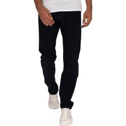 "Vêtements Homme Pantalons Lois Pantalon Sierra En Velours C""telé bleu"