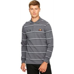 Vêtements Homme Polos manches courtes Ellesse Heritage Polo manches longues MAFFIO RUGBY Gris