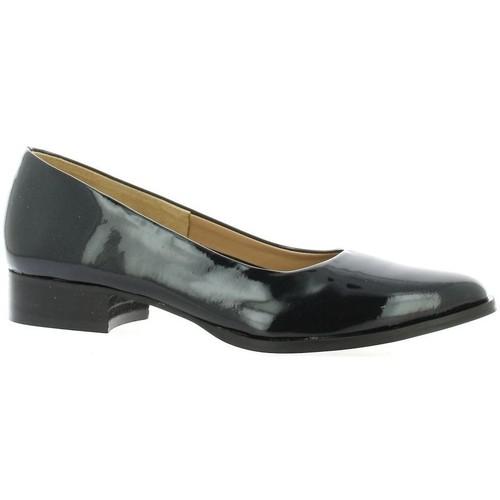Chaussures Femme Escarpins Pao Escarpins cuir vernis Noir