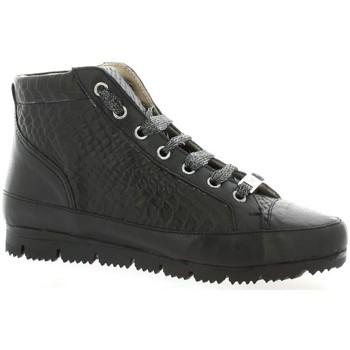 G-Max Femme Boots  Baskets Cuir Serpent