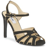 Chaussures Femme Sandales et Nu-pieds Moschino MA1604 000-NOIR