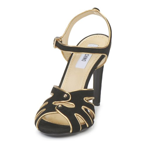 Sandales Moschino Et pieds 000 noir Femme Nu Ma1604 qSpUVzM
