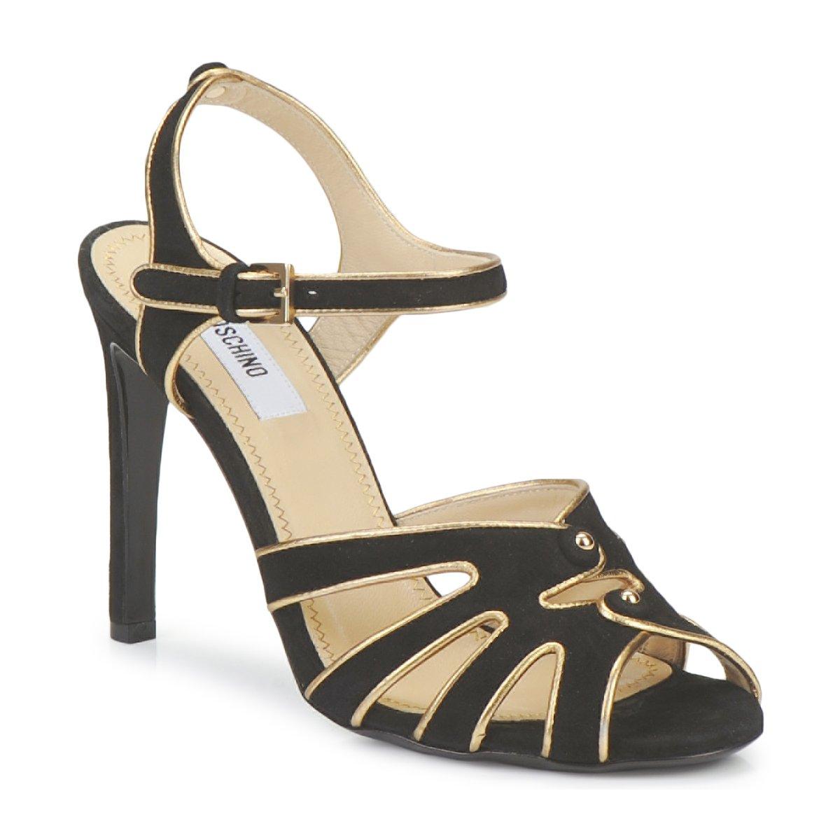 Sandale Moschino MA1604 000-NOIR