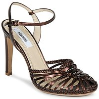 Chaussures Femme Sandales et Nu-pieds Moschino MA1603 EBANO