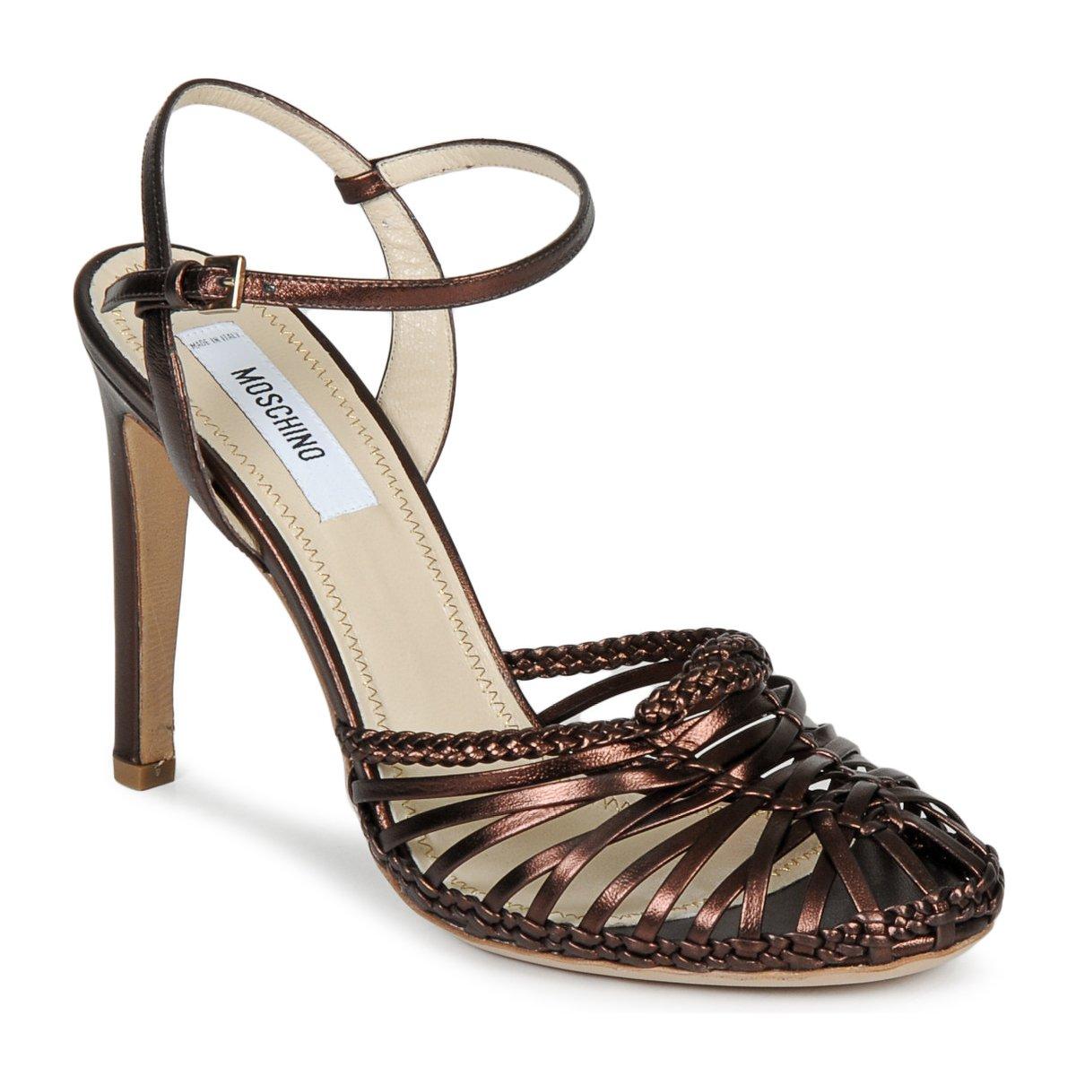 Sandale Moschino MA1603 EBANO