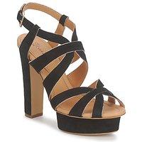 Chaussures Femme Sandales et Nu-pieds Eva Turner LIVIA Noir