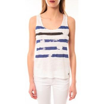 Vêtements Femme Débardeurs / T-shirts sans manche Little Marcel Débardeur Dicola Navy E15FTAN0302 Marin Bleu
