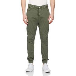 Vêtements Homme Pantalons Le Temps des Cerises Pantalon Homme 860NIK Khaki 25