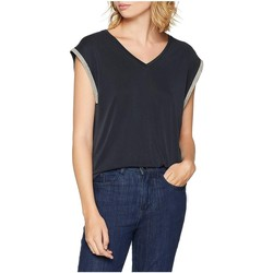 Vêtements Femme Débardeurs / T-shirts sans manche Le Temps des Cerises T-Shirt Femme AGATHA Noir 38