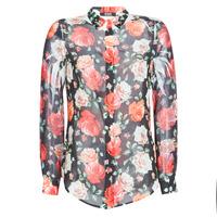 Vêtements Femme Chemises / Chemisiers Guess CLOUIS Noir / Multicolore