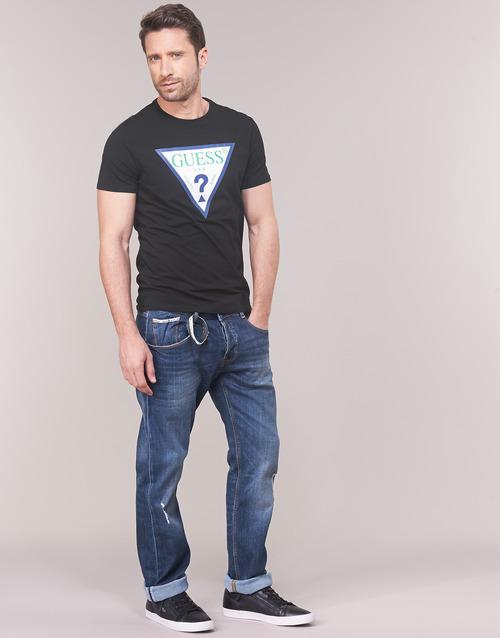 GUESS CLUB  Guess  t-shirts manches courtes  homme  noir