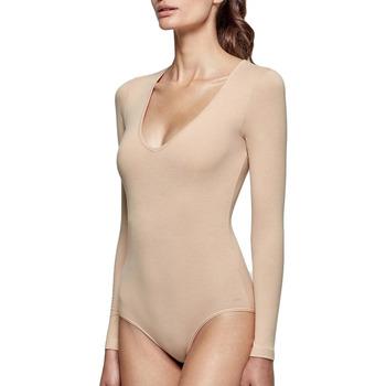 Sous-vêtements Femme Bodys Impetus Body col V beige manches longues régule la température Beige