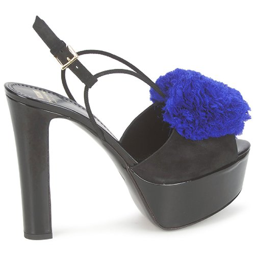 noir Sandales Klein Nu Ooc bleu Chic Femme Cheapamp; pieds Ca1608 Et Moschino DY2eWI9EH