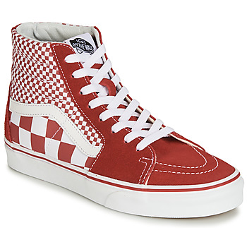 Chaussures Baskets montantes Vans SK8-Hi Red/White