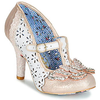 Chaussures Femme Escarpins Irregular Choice PAPILLON Blanc