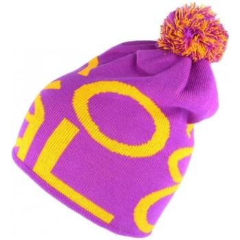 Accessoires textile Bonnets Coal Bonnet Pompon  violet orange The Logo Violet