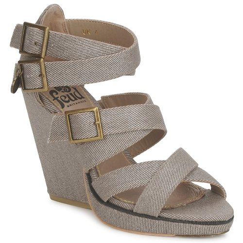 Chaussures Femme Sandales et Nu-pieds Feud WASP Taupe