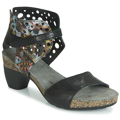 Femme Et Zeg Nu Noir pieds Sandales Think O8wvNmn0