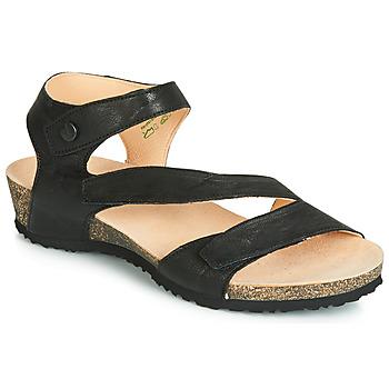 350188dcac4f8 Chaussures Femme Sandales et Nu-pieds Think DUMIA Noir
