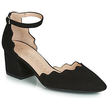 Chaussures Femme Sandales et Nu-pieds Wonders MATTA Noir