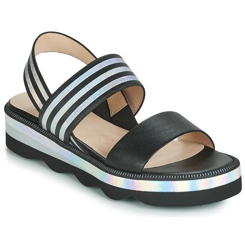 Et Nu Chaussures pieds Sandales Boletti Noir Femme Wonders dxoerCB