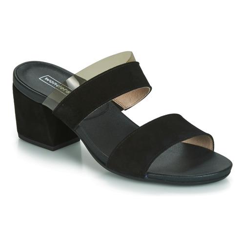 Sandales Wonders Femme Nu Noir Zapajo Et pieds kiPXuZ