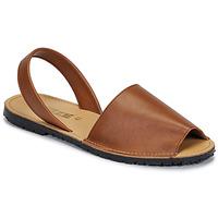 Chaussures Femme Sandales et Nu-pieds So Size LOJA Marron