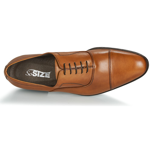 Marron Size Chaussures Richelieu Indiana So Homme EHIWD29