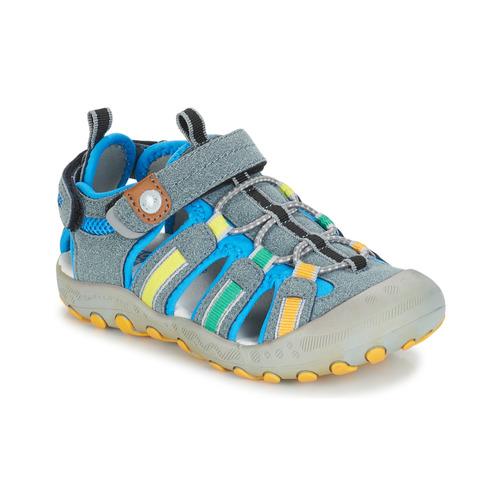 Chaussures Garçon Sandales sport Gioseppo 43008 Gris / Multicolore