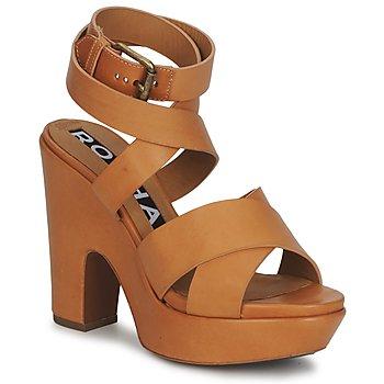 Chaussures Femme Sandales et Nu-pieds Rochas RO18082 Marron