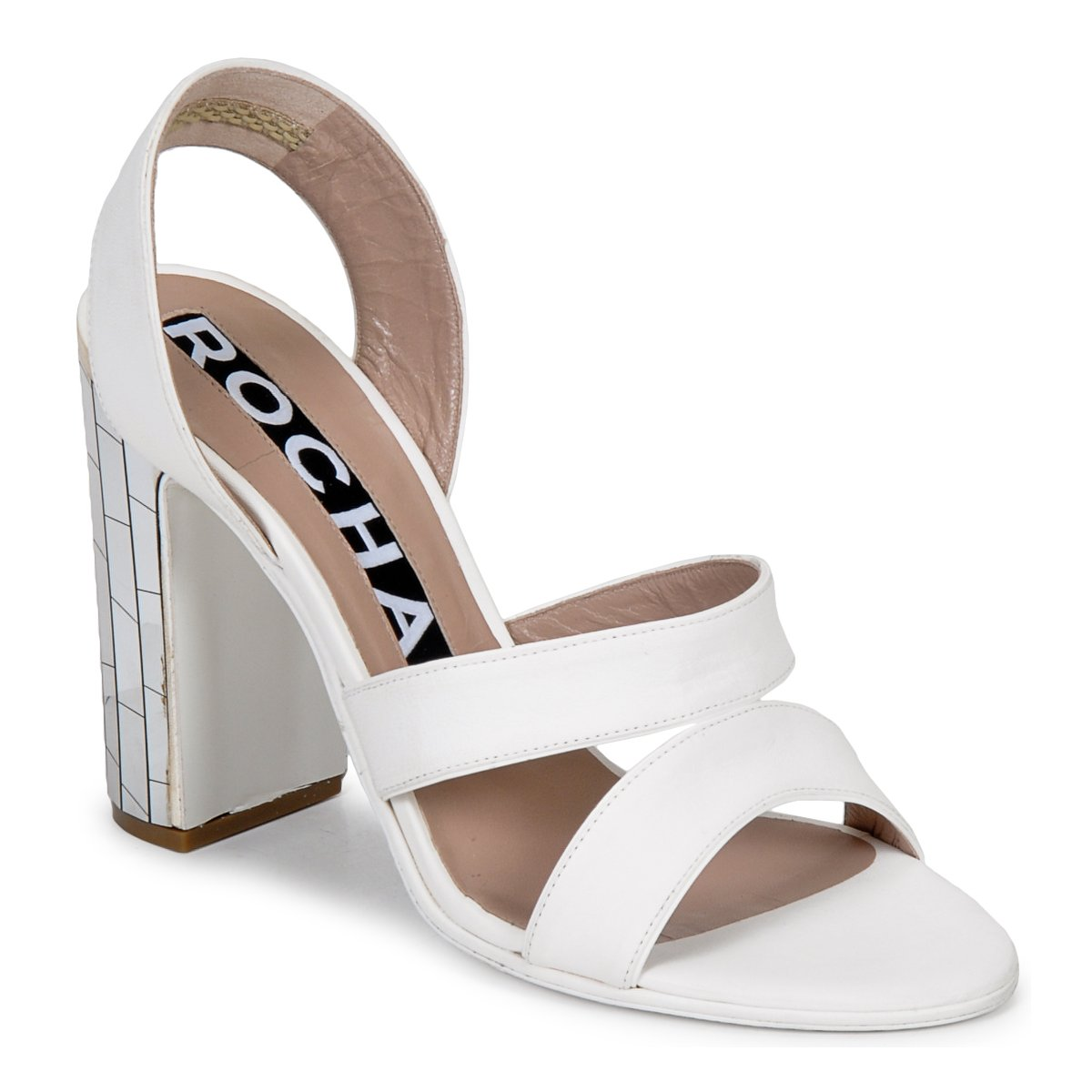 Sandale Rochas RO18244 Blanc
