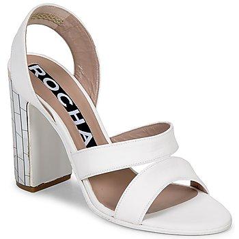 Sandale Rochas RO18244 Blanc 350x350