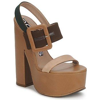 Chaussures Femme Sandales et Nu-pieds Rochas RO18231 Brun / Beige