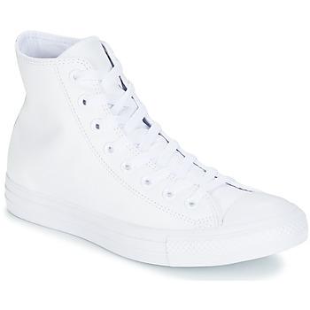 Basket montante Converse CHUCK TAYLOR ALL STAR CUIR HI Blanc 350x350