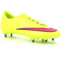 Chaussures Homme Football Nike Mercurial Victory V SG Volt / Pink