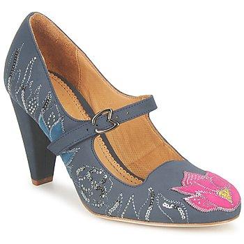 Escarpins Maloles CLOTHILDE Gris / Rose 350x350