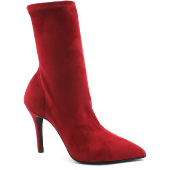 Chaussures Femme Bottines Divine Follie DIV-I18-5011-RO Rosso