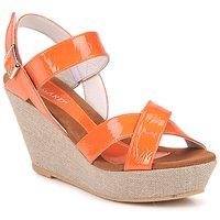 Chaussures Femme Sandales et Nu-pieds Regard RAGA Orange