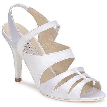 Chaussures Femme Sandales et Nu-pieds Vouelle ELISA Blanc